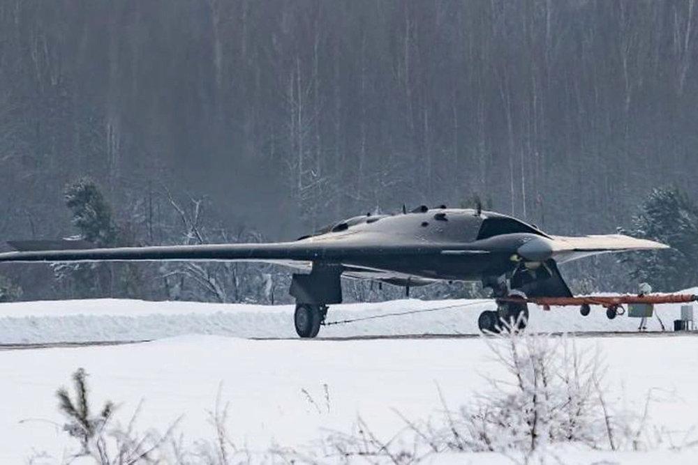 Ударный дрон вышел на охоту