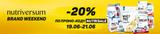 Акция! 3 дня -20% на NUTRIVERSUM