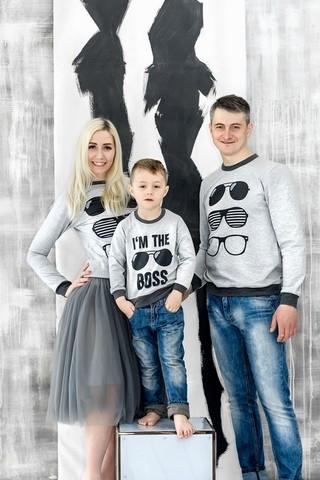 Гармоничный Family Look в стиле Casual