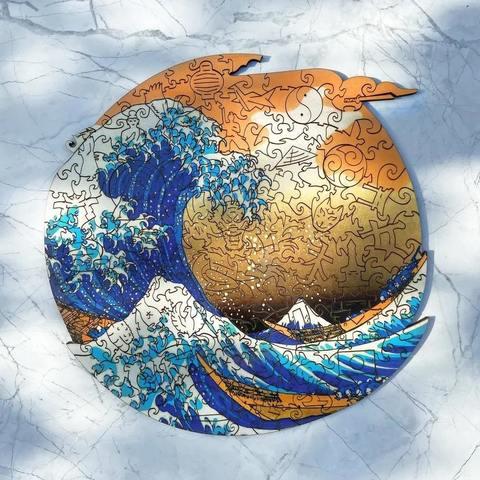 7 тайн гравюр Кацусики Хокусая «Большая волна в Канагаве»
