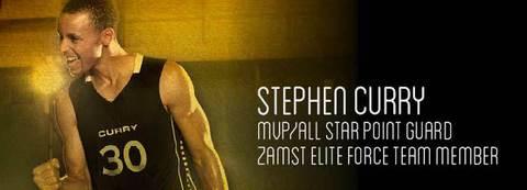 ZAMST поздравляет баскетболиста Стефена Карри с почетным званием MVP