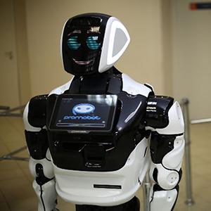 Робот-консьерж получил работу в Подмосковье