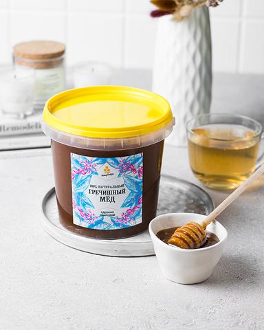 Идеальный медовик с гречишным медом от HoneyForYou. Рецепт.
