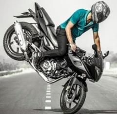 Торможение на мотоцикле