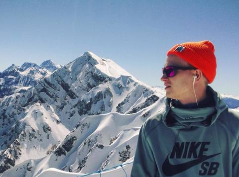 Сергей и горы