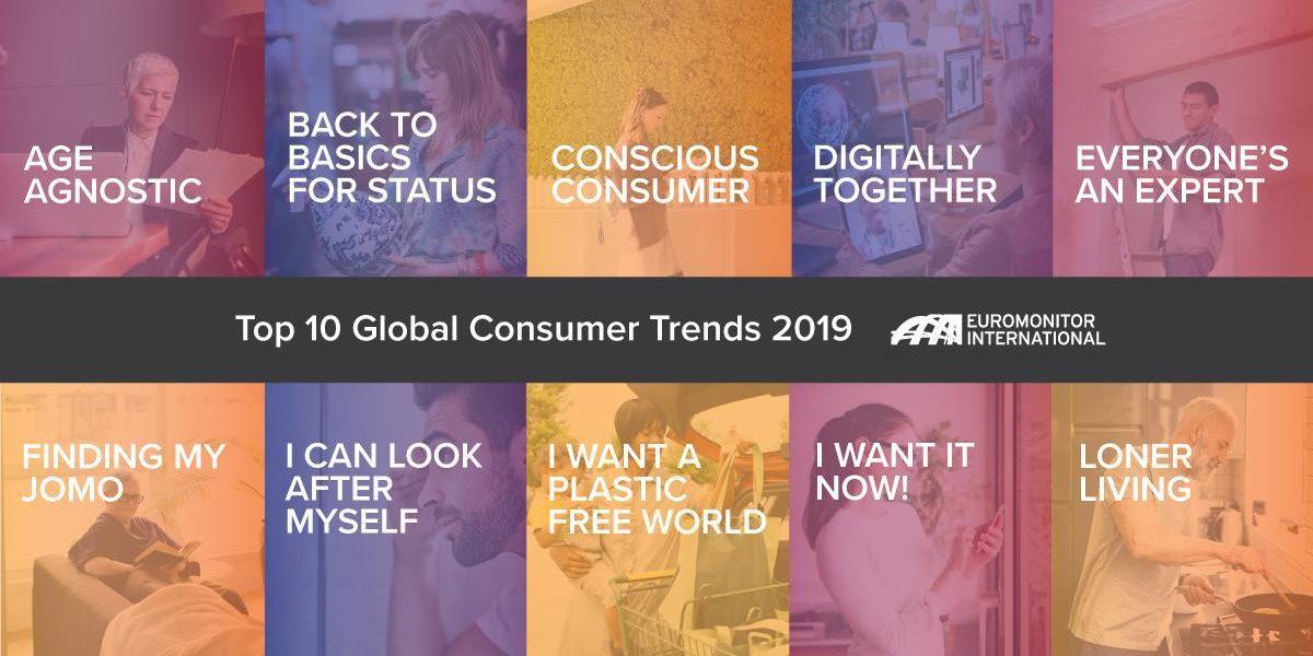Осознанность, «терруарность» и онлайн-сервисы — главные потребительские тренды 2019 года