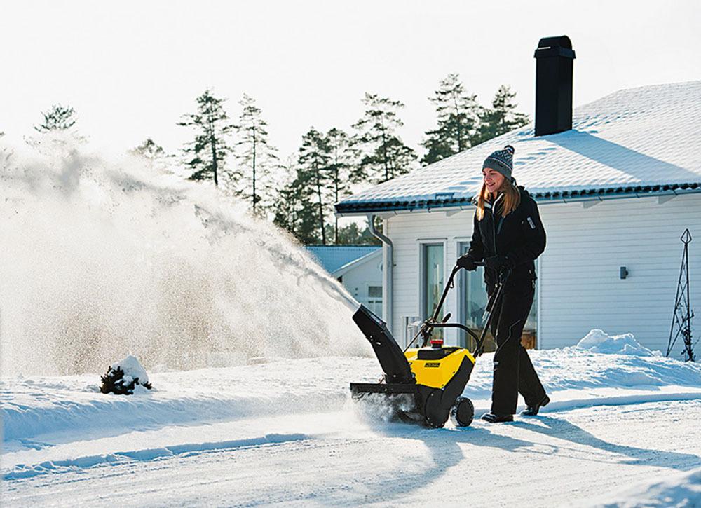 Выбираем снегоуборщик!