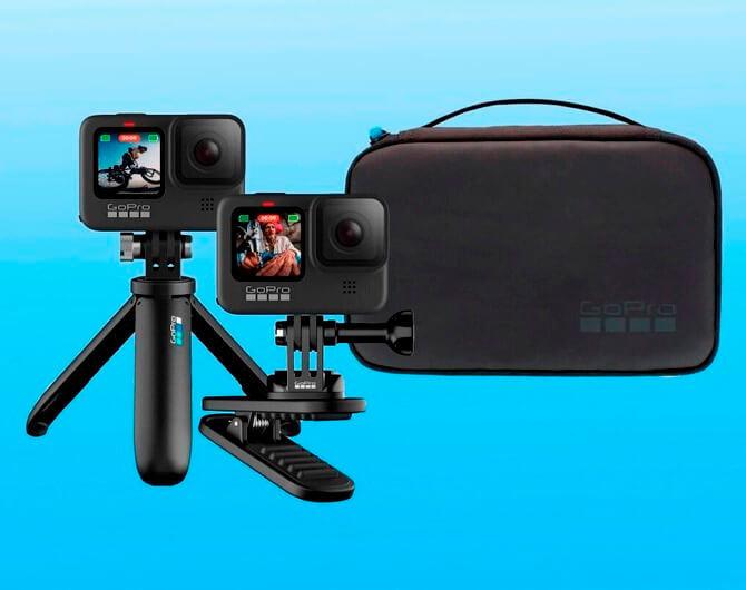 Один для всех и всё для одного. Набор аксессуаров GoPro Travel Kit