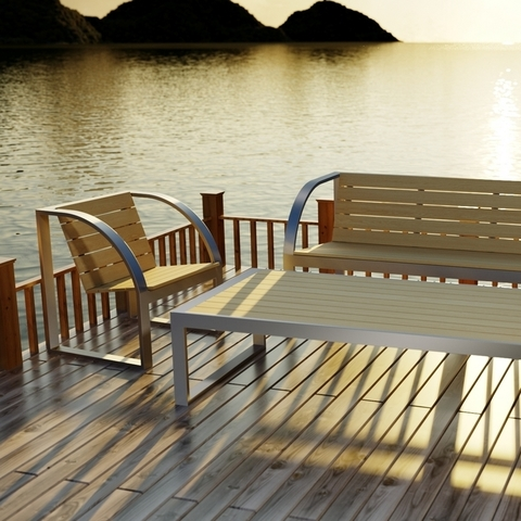 Новая серия outdoor мебели -  ПЛАЗА