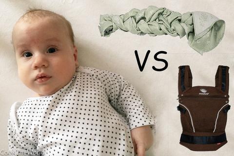 Изображение к статье <<Слинг или эрго-рюкзак. Тест-драйв рюкзака Manduca>>