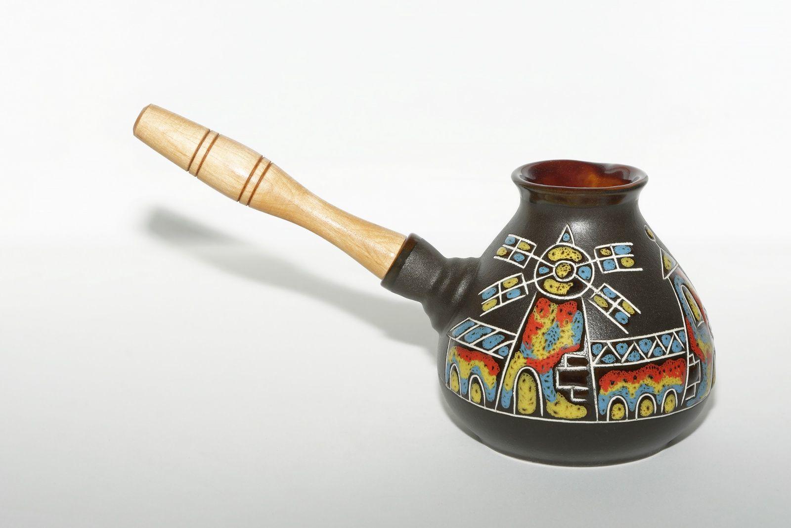 Плюсы керамической турки