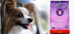 Корм для стерилизованных собак мелких пород