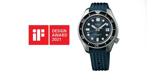 Seiko Prospex выиграла премию iF DESIGN AWARD 2021.