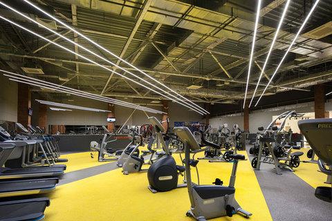 Проект освещения фитнес центра.