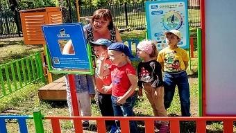 Детская метеорологическая площадка от «Умнички» отмечена знаком «Выбор педагогов»