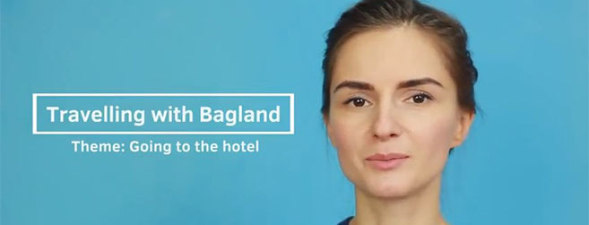 Travelling with Bagland - Going to the Hotel