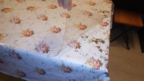 Скатерть ПВХ на кухонный стол