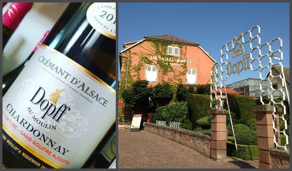 Вино недели с 26 февраля - Dopff au Moulin Cremant d'Alsace Chardonnay Brut 2015