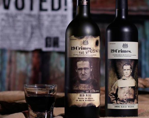 Вино недели с 29 января - 19 Crimes The Uprising 2017