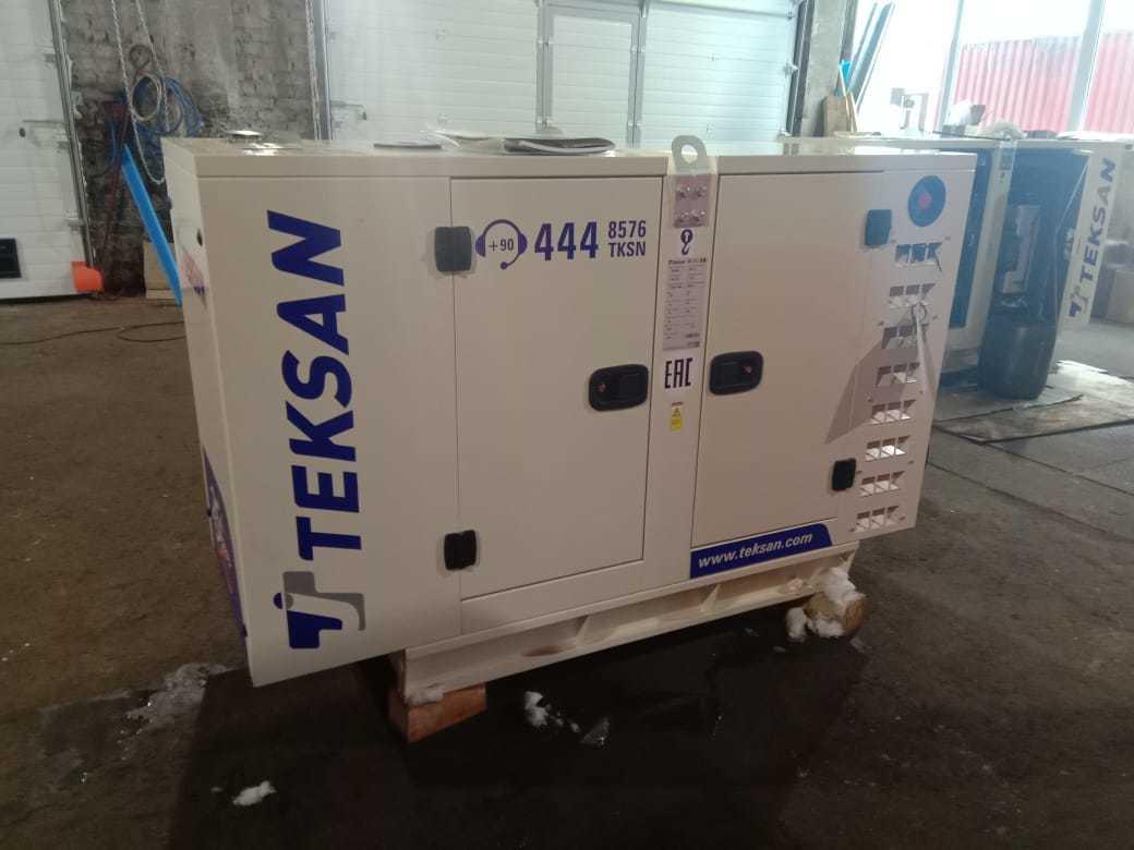 ДГУ Teksan T22 для нефтесервисной компании в Сургут