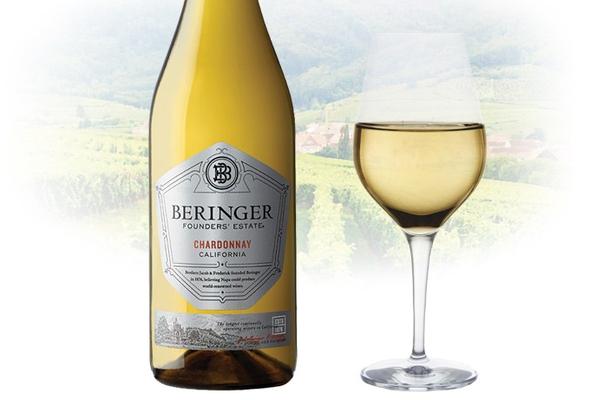 Вино недели с 22 января - Beringer Founder's Estate Chardonnay
