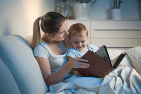 Как приучить ребенка читать книги перед сном и зачем вообще это нужно?