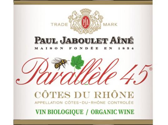 Côtes du Rhône Parallèle 45 стало органическим вином