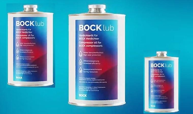 Компрессорные масла представила Bock