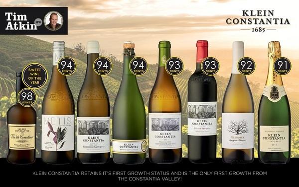 Тим Аткин оценил Vin de Constance 2015 в 98 баллов