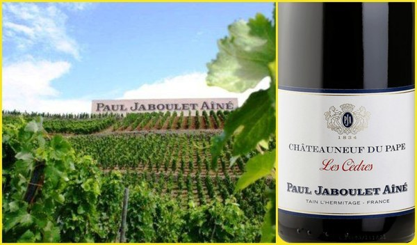 Вино недели с 4 августа - Chateauneuf du Pape Les Cedres Rouge