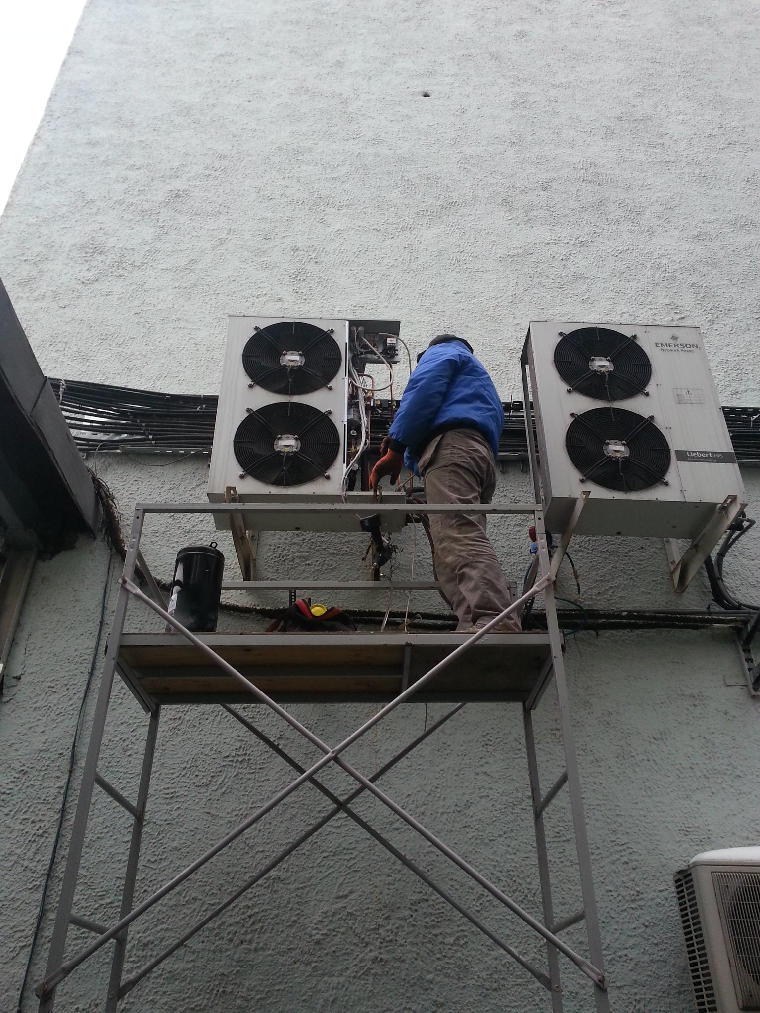 Установка компрессора Copeland