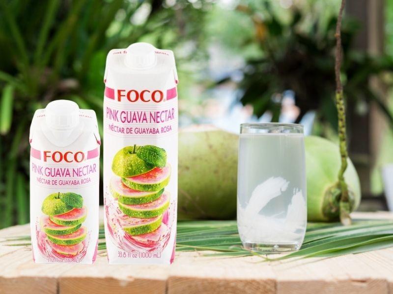 Органические напитки FOCO со скидкой 10%