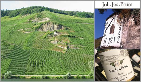 Вино недели с 21 мая - Joh.Jos.Prum Graacher Himmelreich Riesling Kabinett
