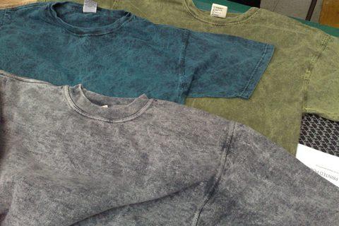 Технология Garment Dyed