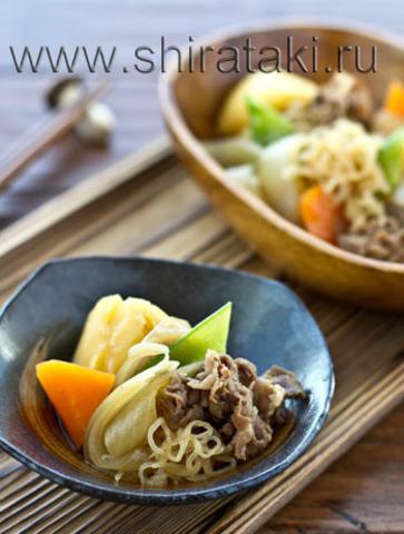 По мотивам японского блюда Никудзяга