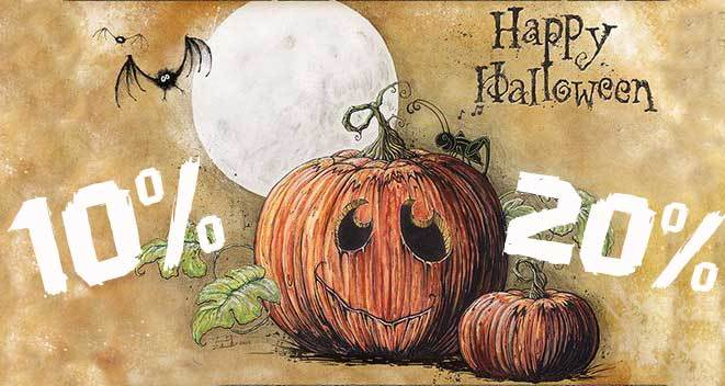 Распродажа к Хеллоуину!