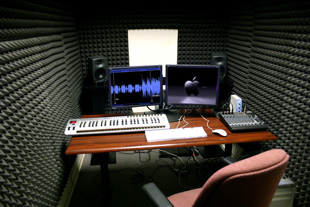 Коррекция акустики музыкальной комнаты