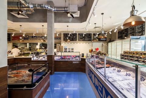 Сеть рыбных магазинов-кафе Моремания