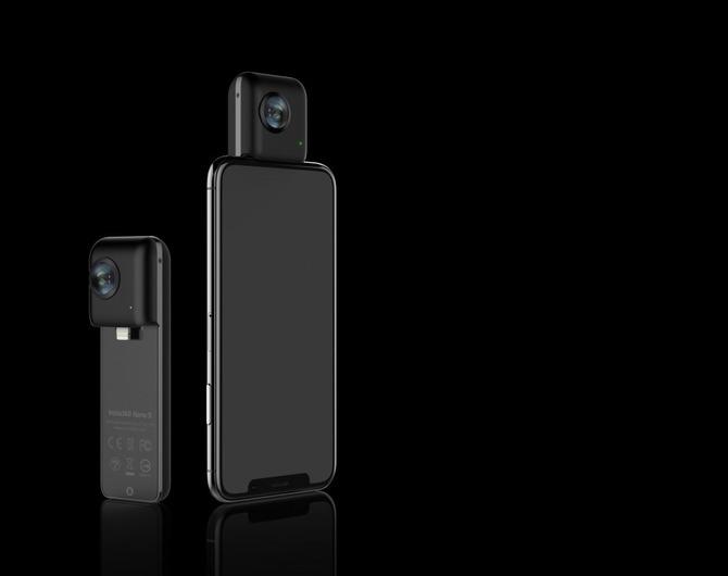 Панорамная камера Insta360 Nano S Black – снимай, как профи