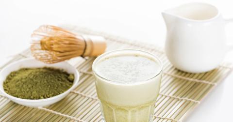 Рецепт Матча Латте на миндальном молоке