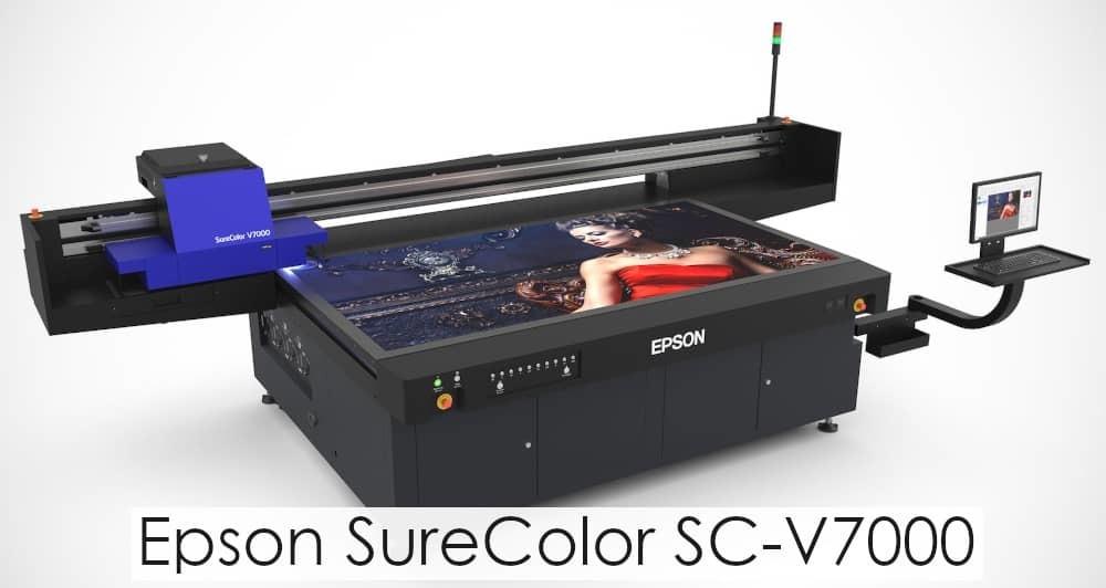 Рынок копировальной техники получил УФ планшетный принтер SureColor SC-V7000  от Epson