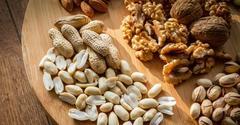 Чистота и замачивание орехов. Мыть ли орехи