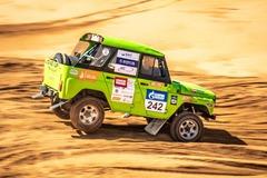 QC OIL™ в партнерстве с ONE-UP Motorsport добывал «Золото Кагана».