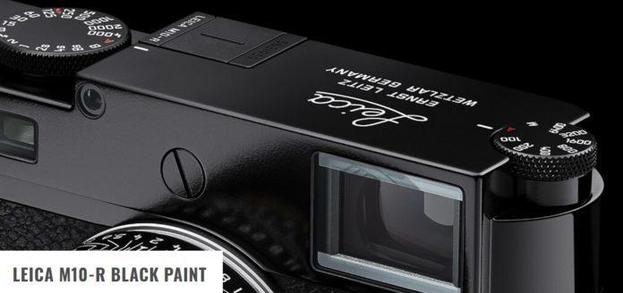 Анонсирована Leica M10-R Black Paint Limited Edition за 9295 долларов