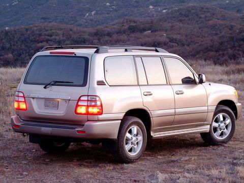 Установка пневмобаллонов на Toyota Land Cruiser 100