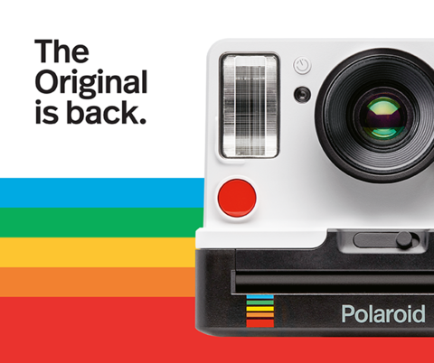 Возрождение бренда - Polaroid Originals