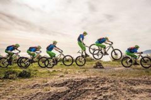 Техника катания на велосипеде: Банни-Хоп