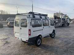 Экспедиционный автомобиль на базе ГАЗ Соболь/Баргузин 4х4