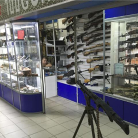 Розничный магазин 100GUNS.RU в ТК