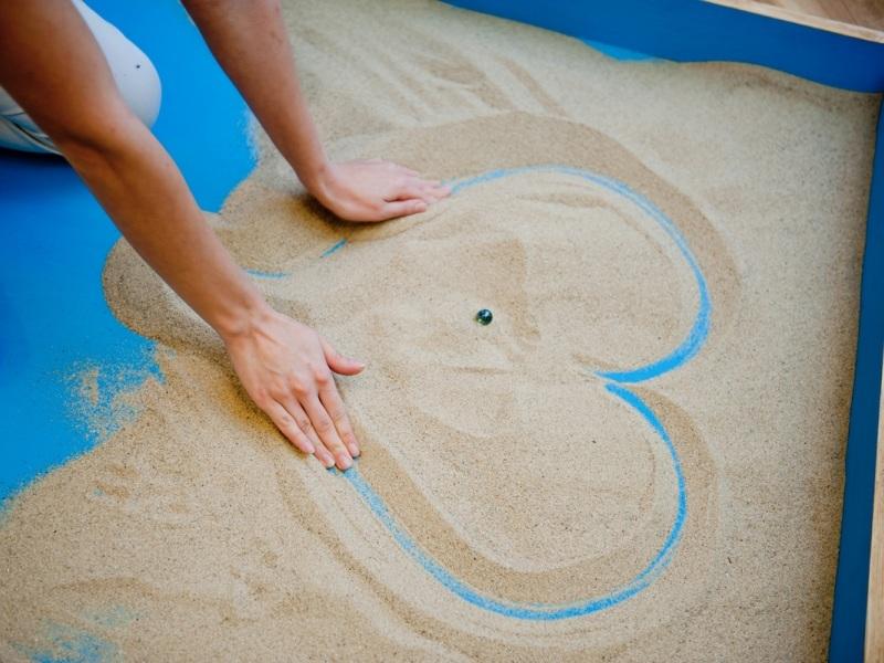 Социализация детей в детском саду с помощью песочной терапии